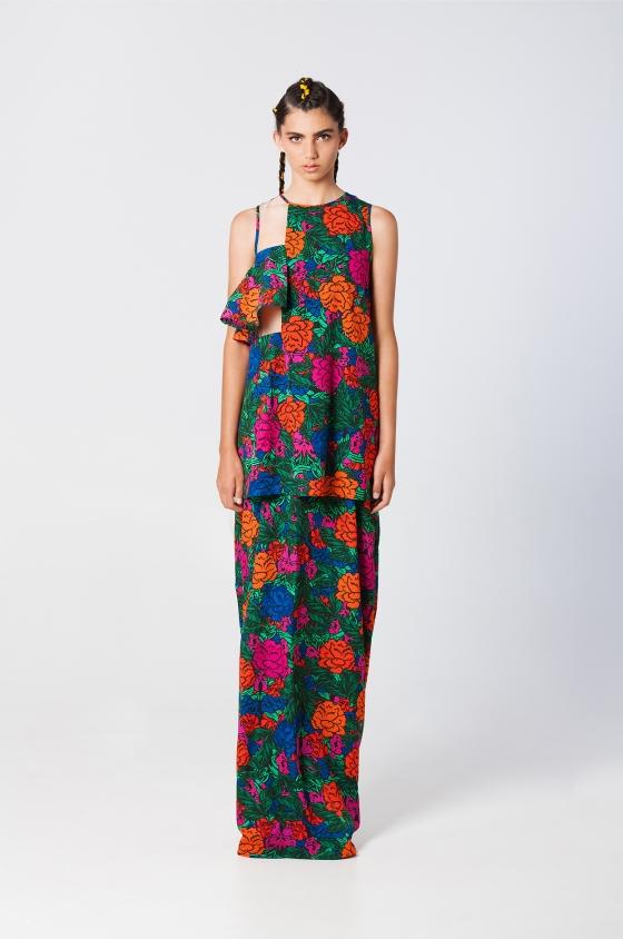 Candela dress print